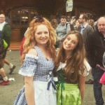 Embracing the culture in Dirndls