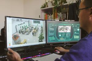 Monitoring the AI camera's results