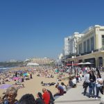Biarritz in summer