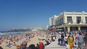 Biarritz in summer