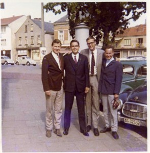 Brian Moeller (left) Germany 1965