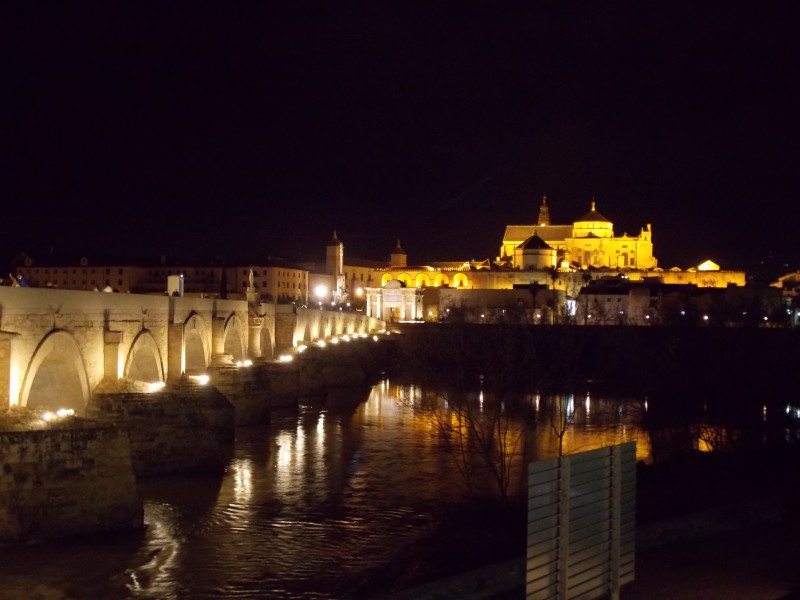 Cordoba Skyline at Night