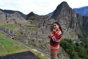 La vista desde Machu Picchu!