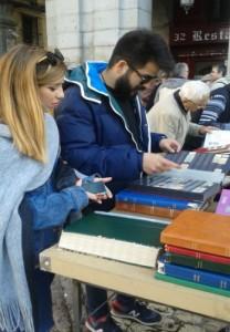 El Rastro vintage (second hand) market, Madrid - Nov 2014