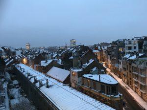 Winter in Brussels