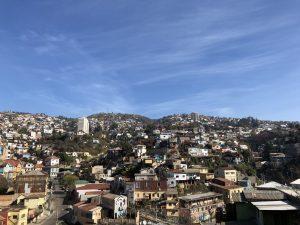 Valparaiso's landscape