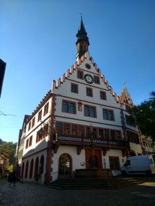 A short stop in Weinheim