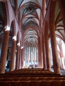 Inside of the Heiliggeistkirche