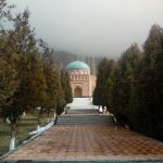 "Tomb of Rudaki, the ""father of Persian literature"", in Panjakent - Мақбараи Рӯдакӣ, ""падари адабиёти тоҷикӣ, дар Панҷакент"