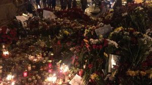 The 3rd April 2017 marked an absolutely heartbreaking moment in my time here in St Petersburg. The terror attack on the metro shook the whole city. We were horrified and saddened by the loss of lives in this senseless attack. An official nationwide mourning was observed for 3 days after the incident and flowers and candles decorated streets and metro stations around the city. I was close to the commotion as it happened, but I was very lucky to have not been hurt. As a foreigner and visitor to this aptly-named Hero City, I am with the Russian people in thinking about the innocent civilians who lost their lives on this tragic day.