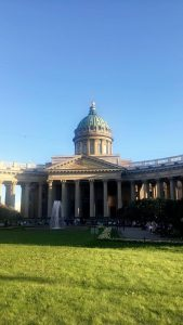 Kazan Cathedral in the sun!