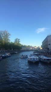 Doesn't St Petersburg remind you of Venice? With its many canals and beautiful buildings, you'd be forgiven for thinking you're in the European capital.