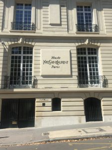 The former haute couture house of Yves Saint Laurent and Pierre Bergé: Now the Musée Yves Saint Laurent Pars