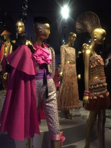 YSL Museum Paris Exoticism collection: (Left) Torero's Costume