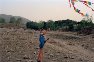 Kite flying outside of Beijing