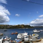 Fishing boats in Dalcahue