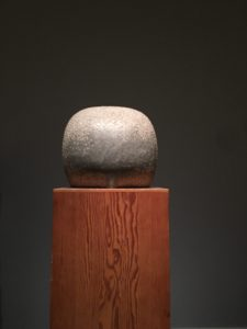 I was able to go and see an exhibition of Isamu Noguchi's work that had been postponed because of covid.