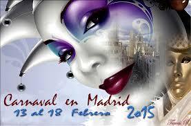 Madrid Carnaval, February 2015