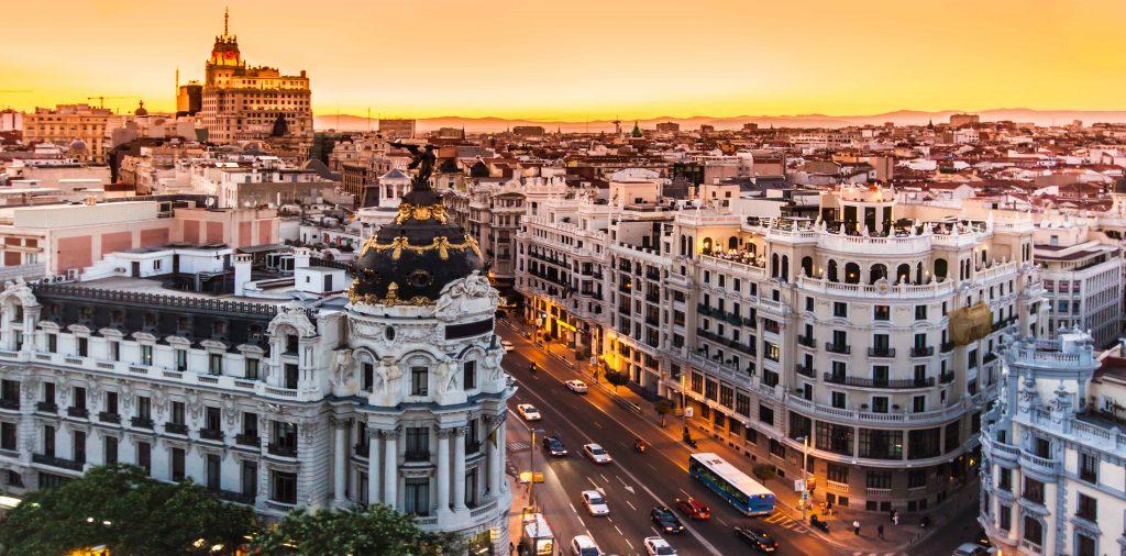 Madrid Skyline 1