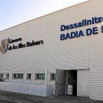 La planta desalinizadora en Mallorca
