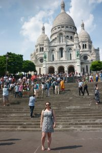 Me exploring Montmatre and getting to know my new home