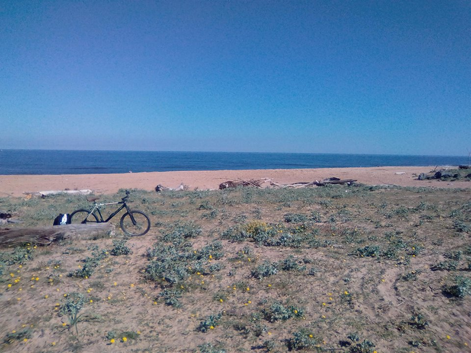 France, Term Abroad, Cycling, Beach
