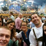 Oktoberfest work team building evening