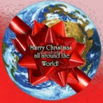 merry xmas around the world